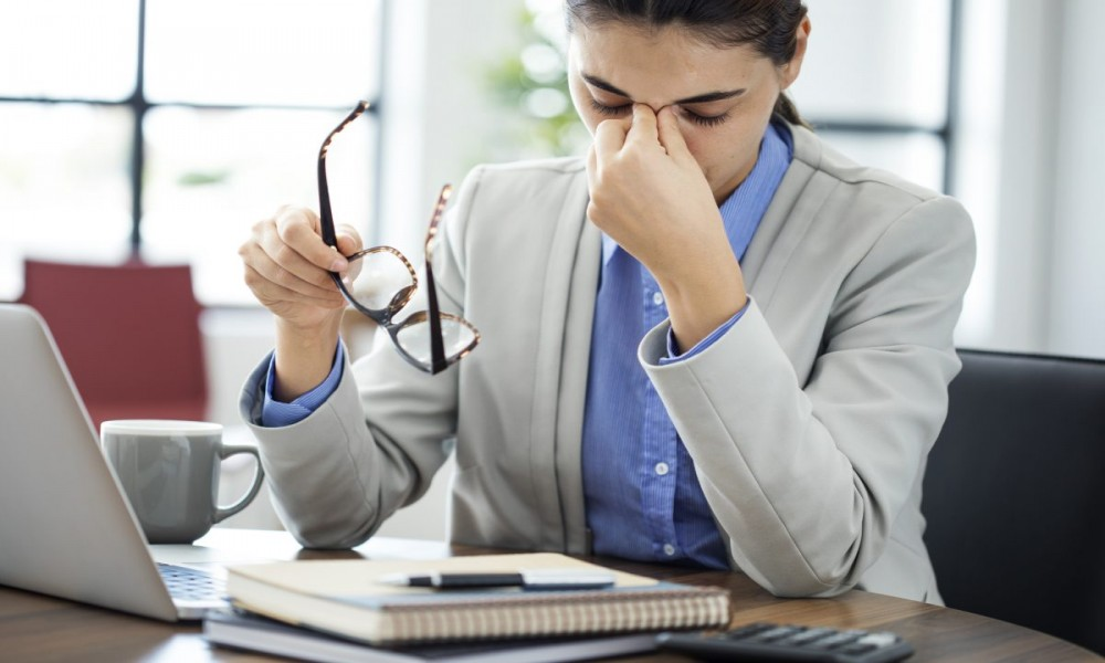 Kada telo više ne može 20 znakova da pucate od stresa