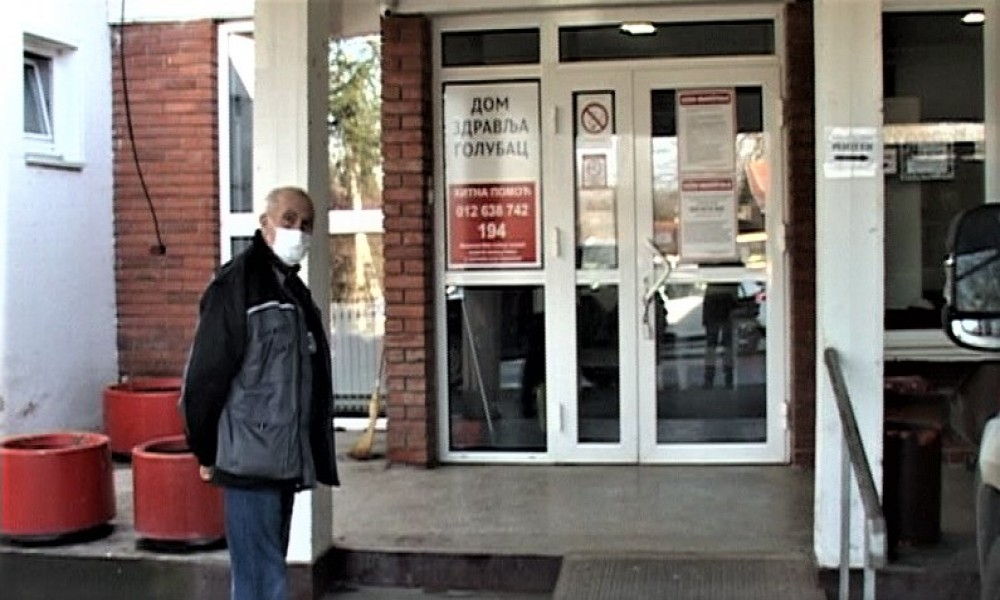 Vakcinacija stanovništva  protiv kovida 19 bez zakazivanja   počela je i u Domu zdravlja Golubac