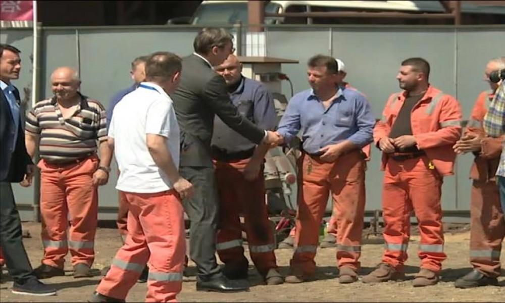Polozen Kamen Temeljac Za Ekoloski Pogon U Smederevskoj Zelezari