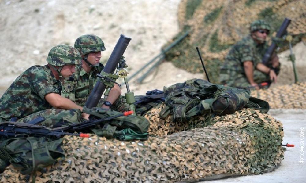 Vojne vežbe u Velikom Gradištu
