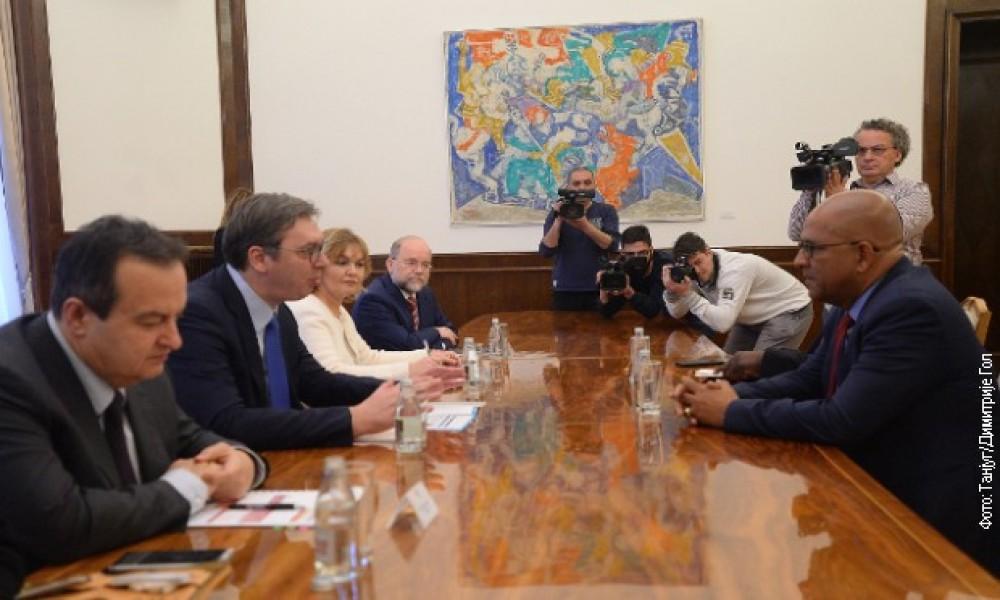 Hvala Grenadi na podršci suverenitetu Srbije