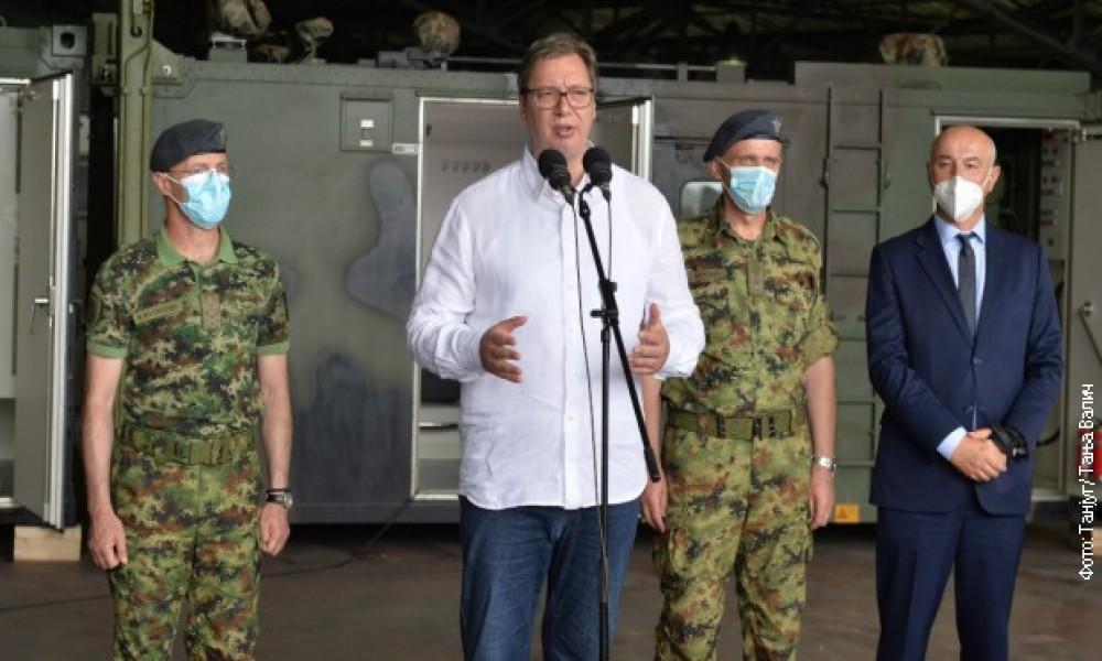Vučić: Da sam bio tu, ranije bih poslao vojsku u Novi Pazar