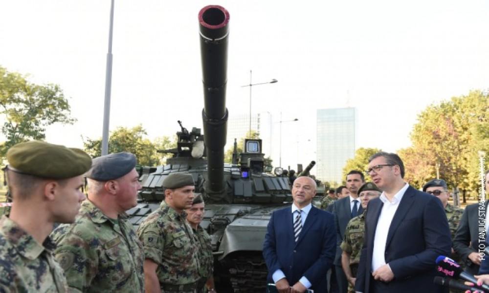 Vučić na Ušću: Ovo nismo mogli ni da sanjamo, građani mogu biti ponosni na svoju vojsku