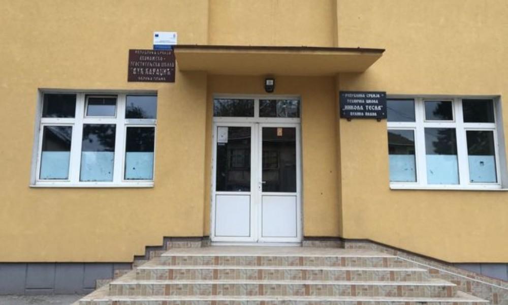 Pucnjava u školi,  osumnjičeni uhapšen, nema povređenih