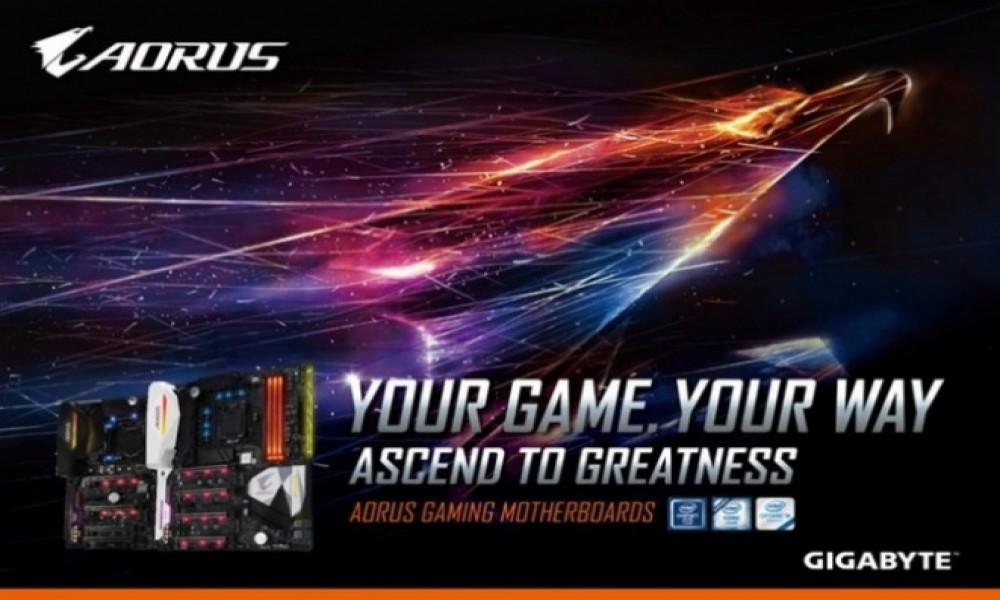 Gigabyte akcija: kupite Aorus gejming matičnu ploču i osvojite besplatne Steam vaučere