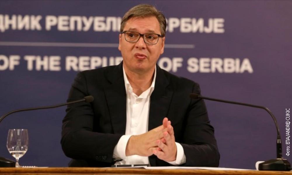 Predsednik Vučić najavio je obustavljanje radova kod Visokih Dečana