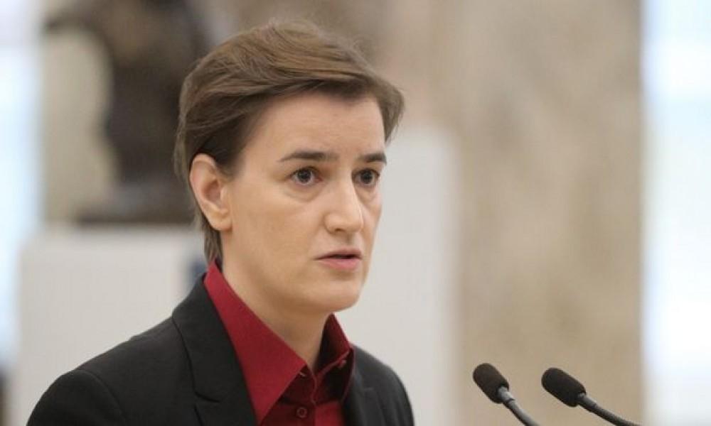 Poruka o referendumu nije za Zapad, već za građane: Brnabić o Vučićevoj izjavi