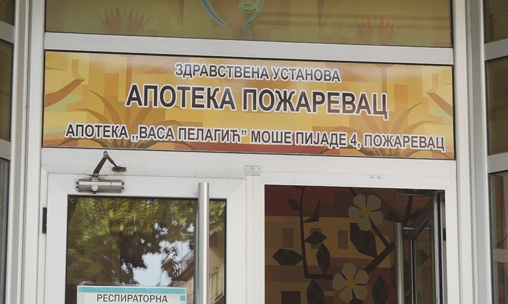 Centralna apoteka Požarevac i dalje dobro snabdevena