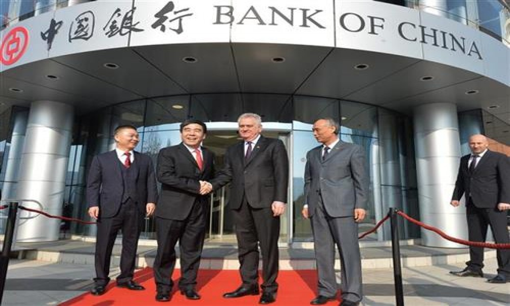 BANK OF CHINA POČELA SA RADOM U SRBIJI