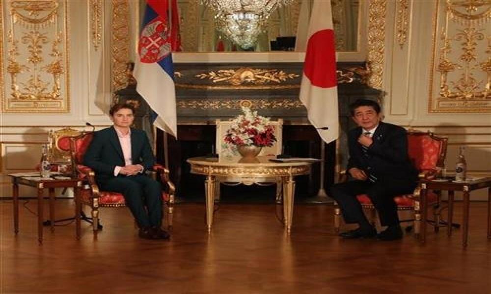 Brnabić u Japanu, sastala se sa Abeom