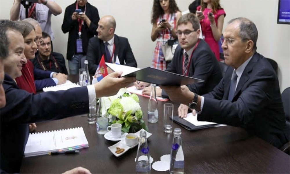 Dačić upoznao Lavrova o planovima Srbije po pitanju KiM