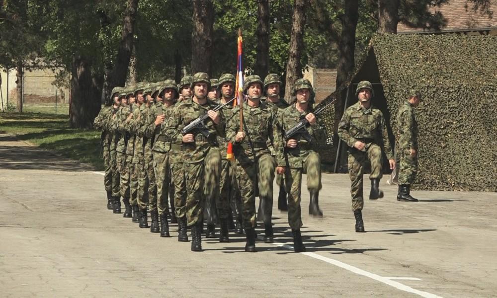 Vojne vežbe na poligonu Peskovi