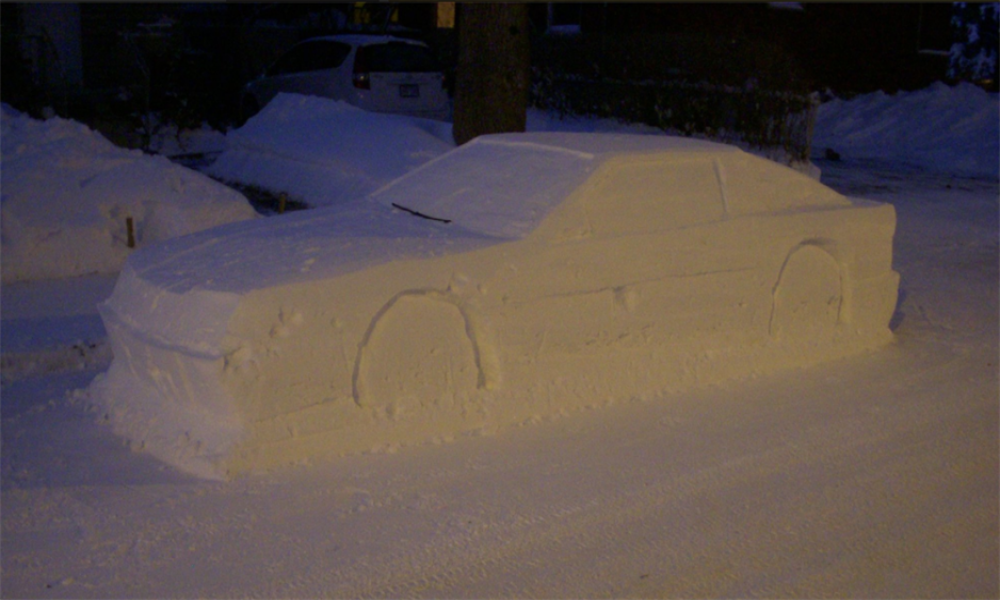 Prevario policiju lažnim kolima od snega