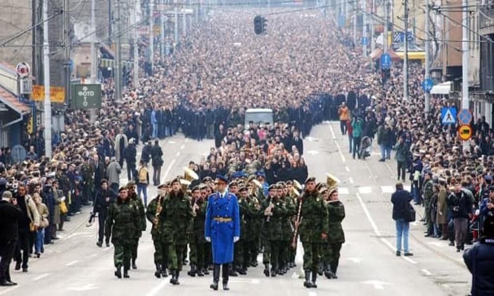 Venci i šetnja u čast Zorana Đinđića