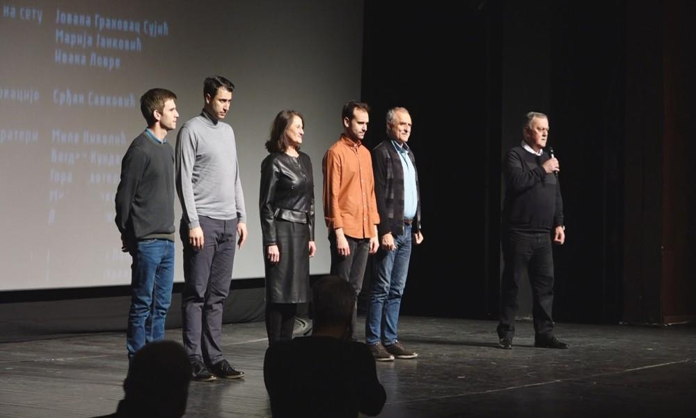 PREMIJERA FILMA KRALJ PETAR I U POŽAREVCU: GLUMCI SE POKLONILI PUBLICI