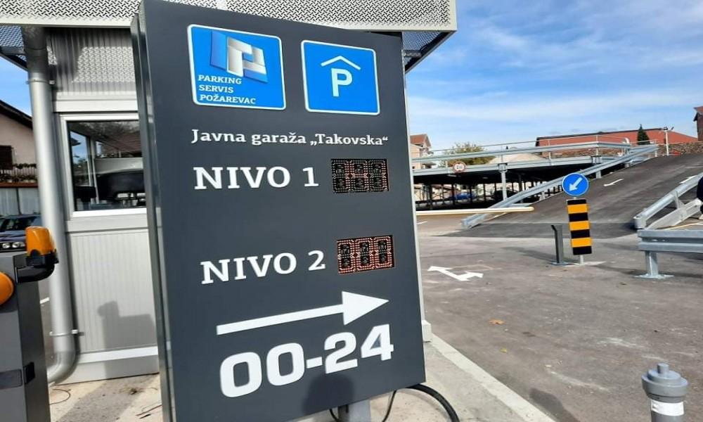 JKP Parking servis obaveštava korisnike