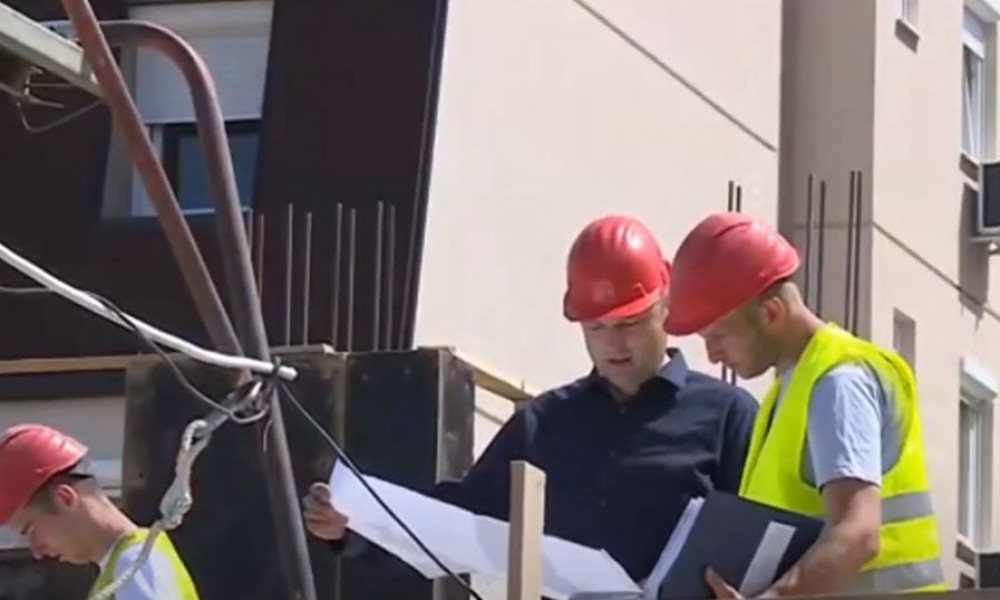 U maju mesecu 2021. izdata je 2.001 građevinska dozvola