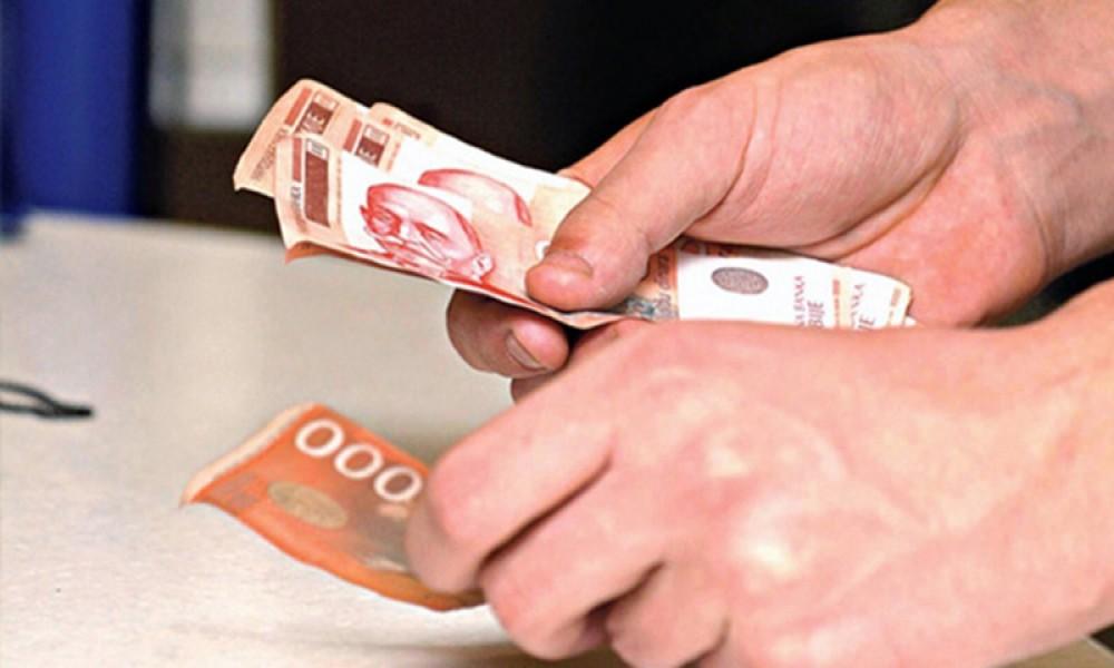 Počela isplata novčane naknade nezaposlenim licima