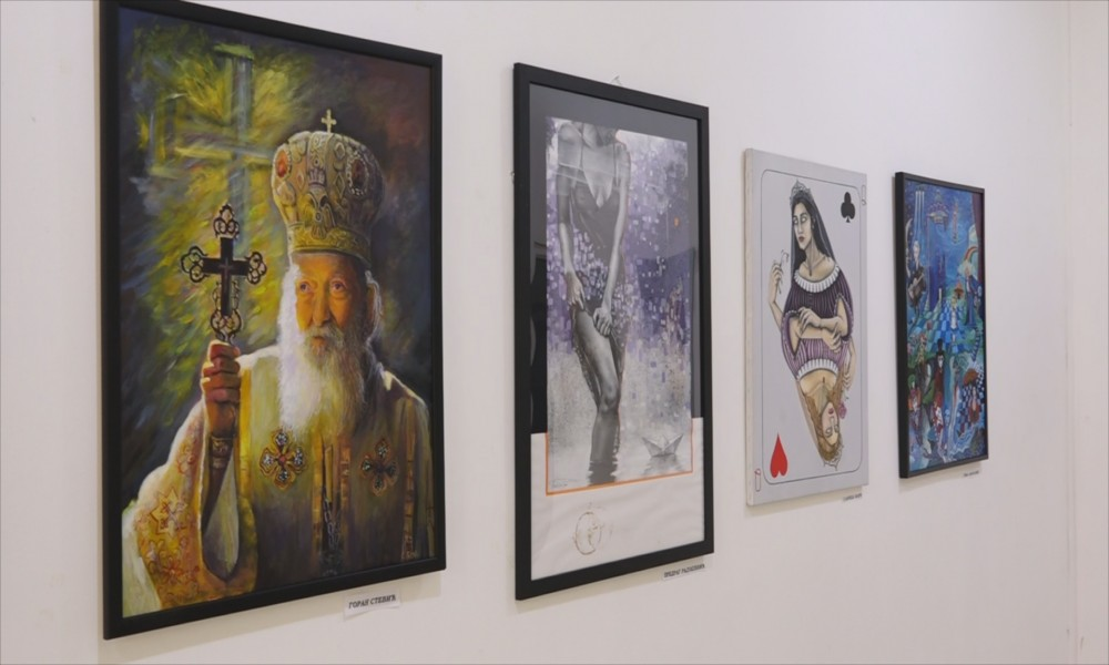 Otvorena je  Zimska izložba slika  ULIS-a