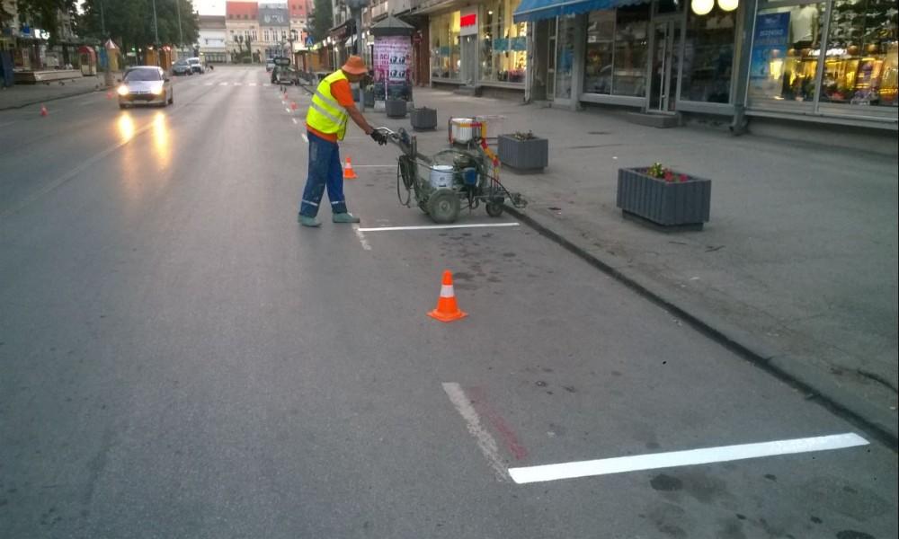 """JKP  """"Parking servis""""  počinje sa godišnjim održavanjem javnih parkirališta"""