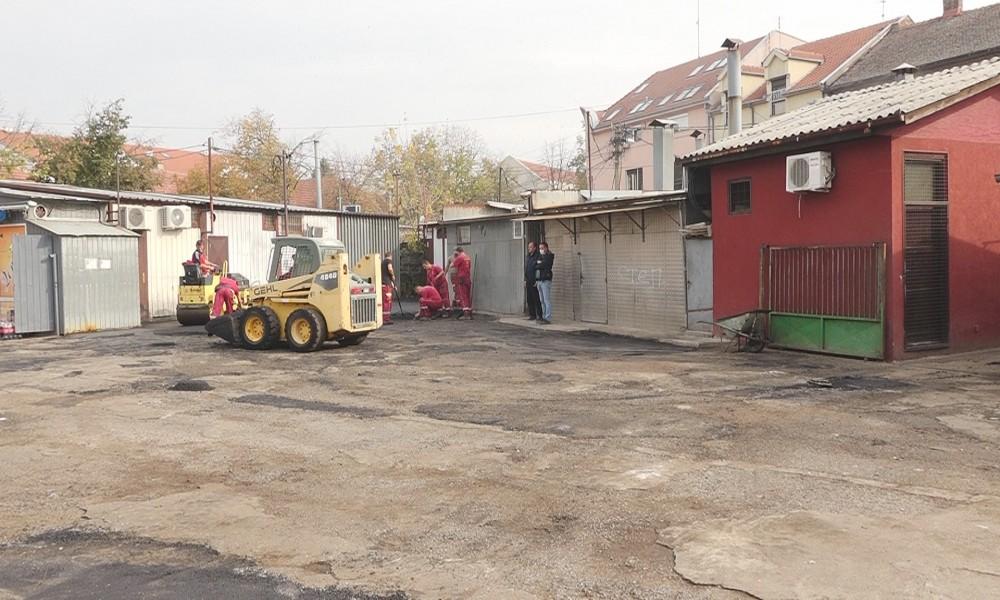 """Rekonstrukcija pijace """"Stari Mlin"""" kod Medicinske škole"""