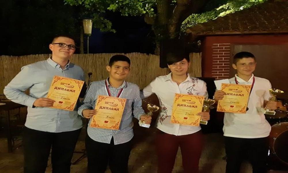 Nagrađeni učenici na takmičenju ''Izvorske Kapi''