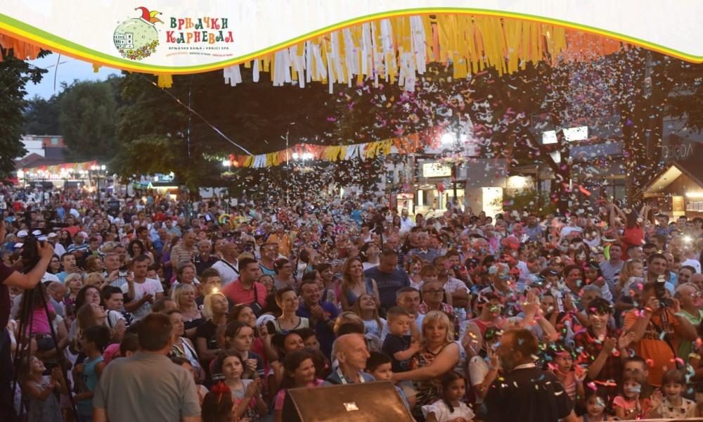 Karnevalski zemljotres u Vrnjačkoj Banji