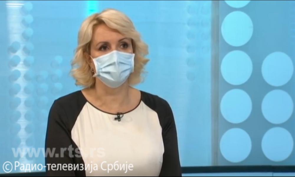 Darija Kisić Tepavčević kaže da je situacija povoljnija i objašnjava kada ćemo skinuti maske