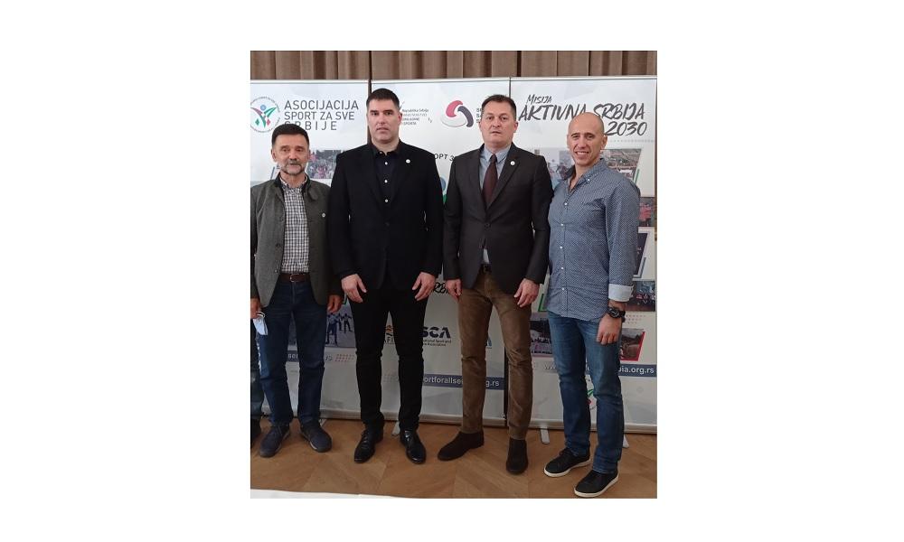 Kongres Sporta za sve Srbije u Banji Koviljači