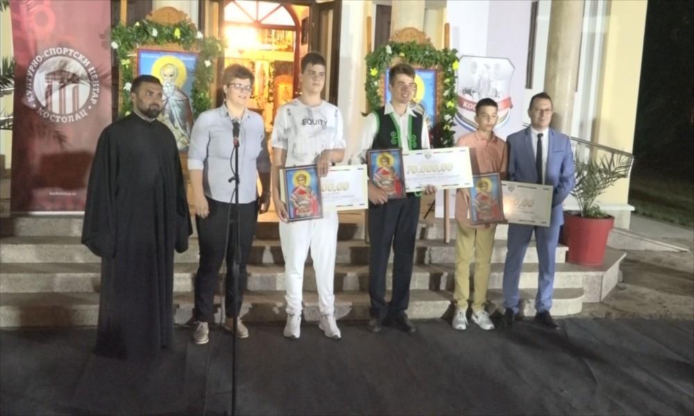 Dodeljene nagrade najboljim učenicima i sportistima u Kostolcu