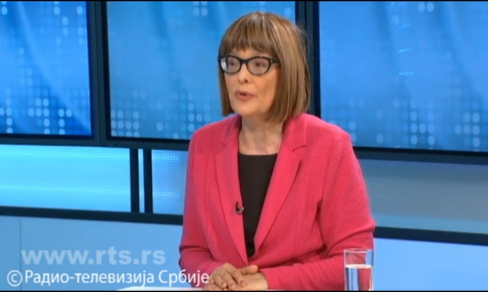 Maja Gojković za RTS o povratku kulture u naše živote