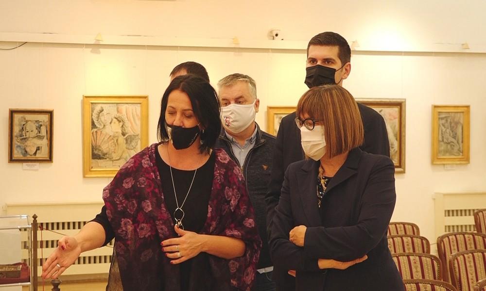Ministarka najavila pomoć za realizaciju projekta rekonstrukcije galerije