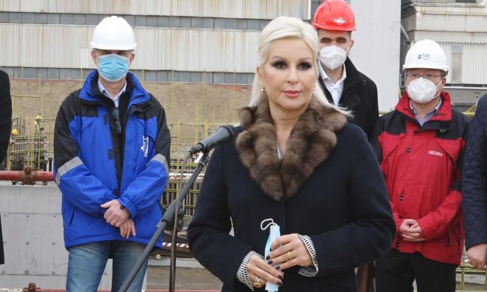 Ministarka Zorana Mihajlović obišla Termoelektranu u Kostolcu