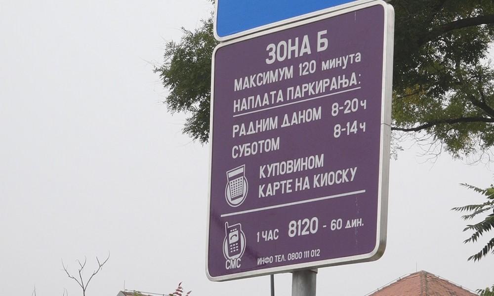 Nova parking zona Moše Pijade