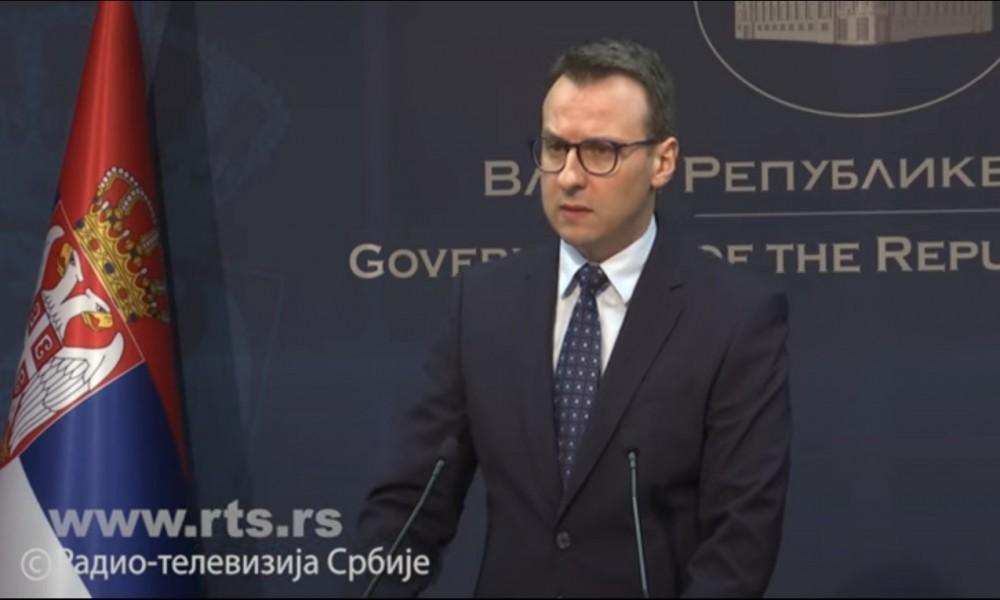Petković: Niko nas ne može sprečiti da uručimo pomoć Srbima na KiM