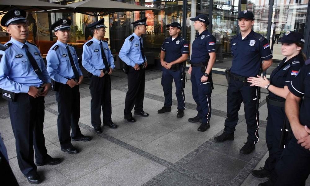 KINESKI POLICAJCI U PATROLI SA SRPSKIM U BEOGRADU, SMEDEREVU I NOVOM SADU