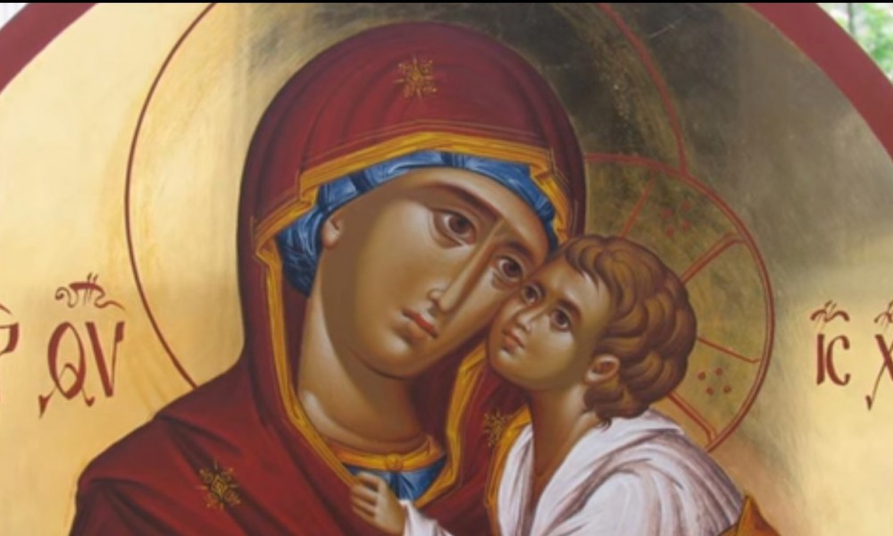 SRPSKA PRAVOSLAVNA CRKVA  DANAS SLAVI VAVEDENJE PRESVETE BOGORODICE MARIJE