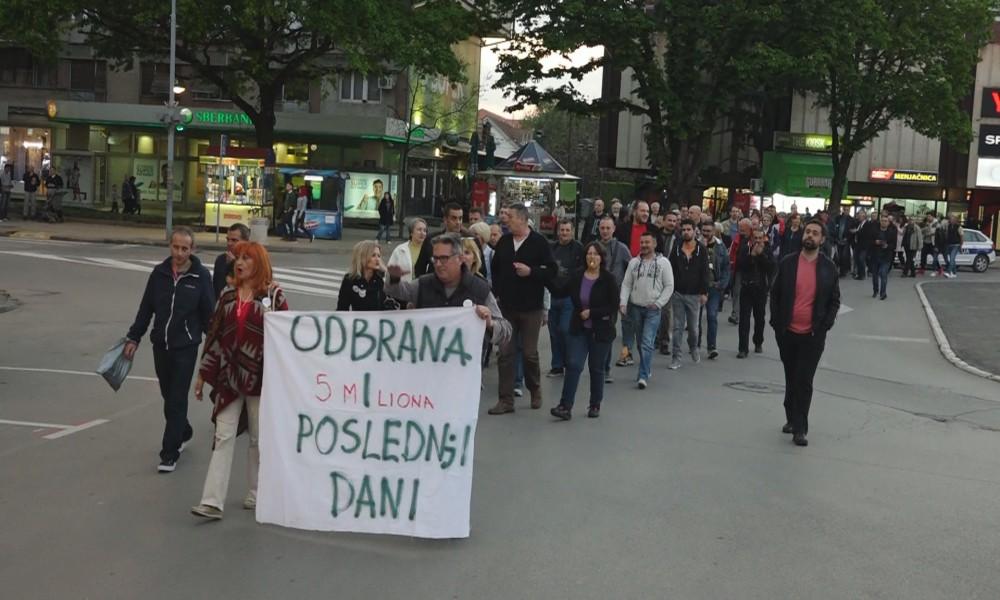 PROTESTI I OVOG PETKA U POŽAREVCU