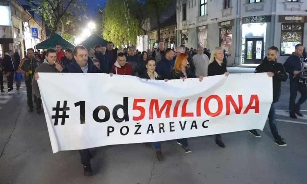 12 PROTEST U POŽAREVCU