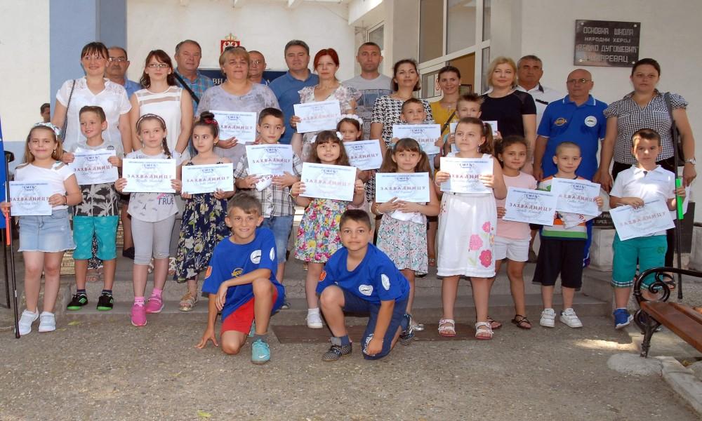 NAGRAĐENI UČENICI MALE ŠKOLE RIBOLOVA 2019