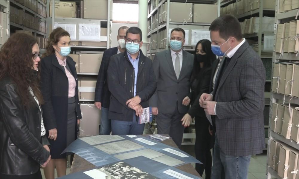 Ministar Branko Ružić posetio Istorijski arhiv u Požarevcu