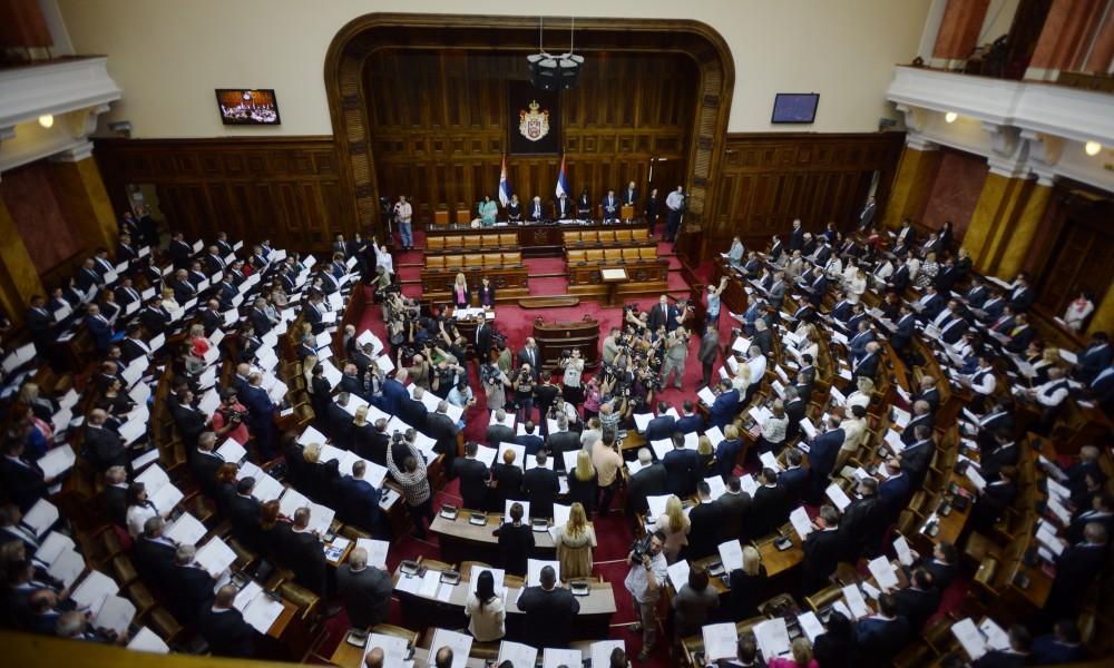 Sutra sednica parlamenta, na dnevnom redu izbor skupštinskog rukovodstva