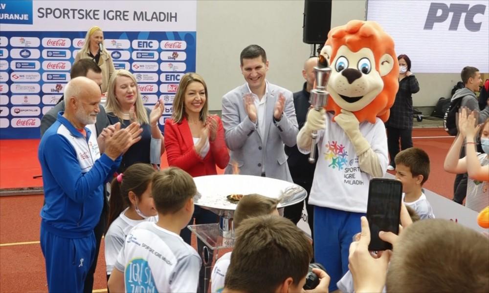 Sportske igre mladih danas u Požarevcu
