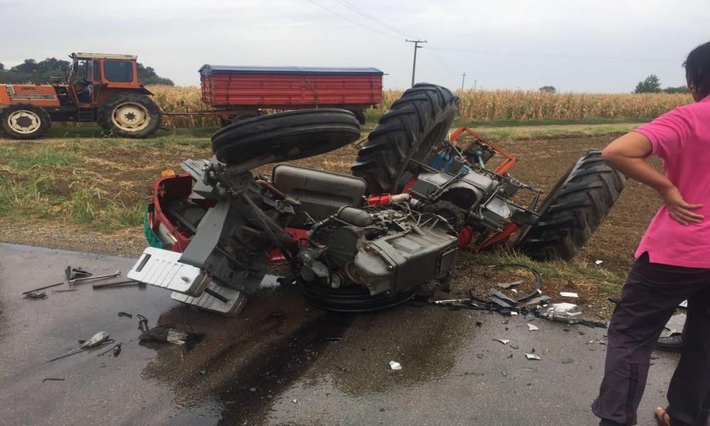 Udes Traktora i Automobila u okolini Požarevca
