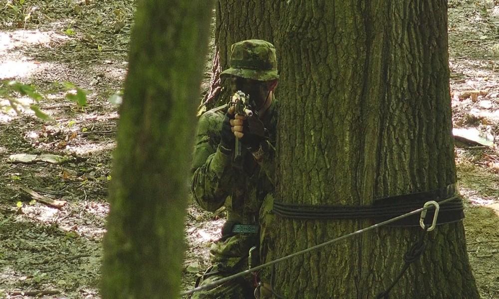 Taktičke vežbe na poligonu Zaova