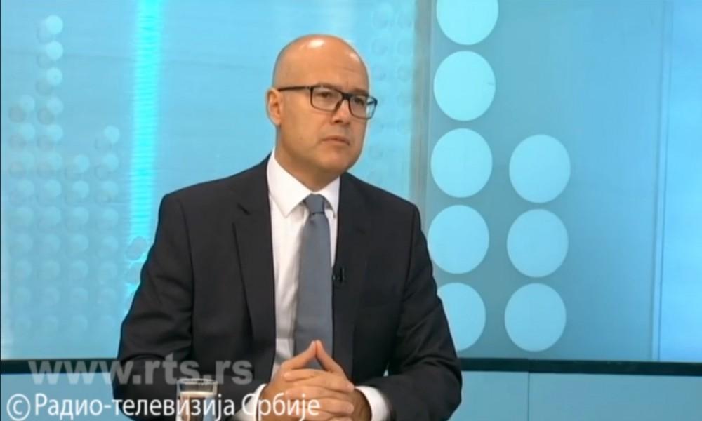 Vučević za RTS: Sastavljanje Vlade nije igra brojki i slova