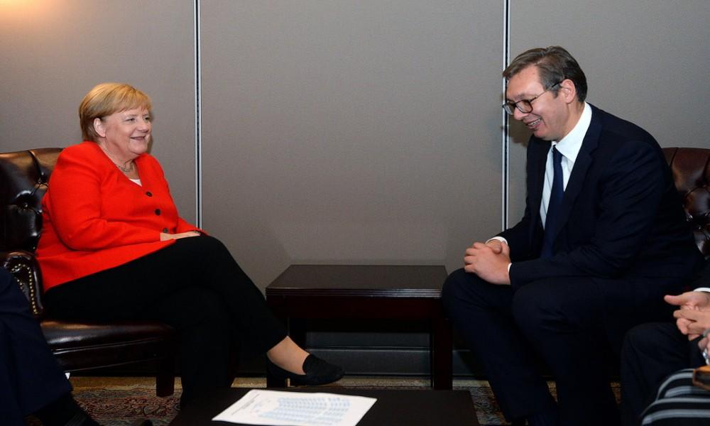 Merkel i Vučić dogovorili video sastanak u ponedeljak