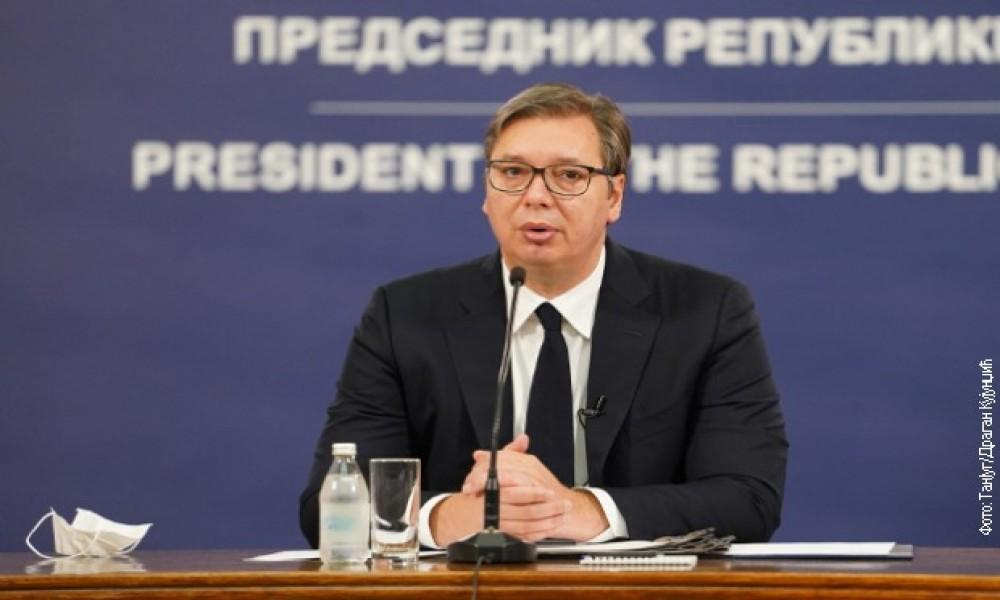 Vučić: Srbija spremna da pomogne Libanu u otklanjanju posledica eksplozije