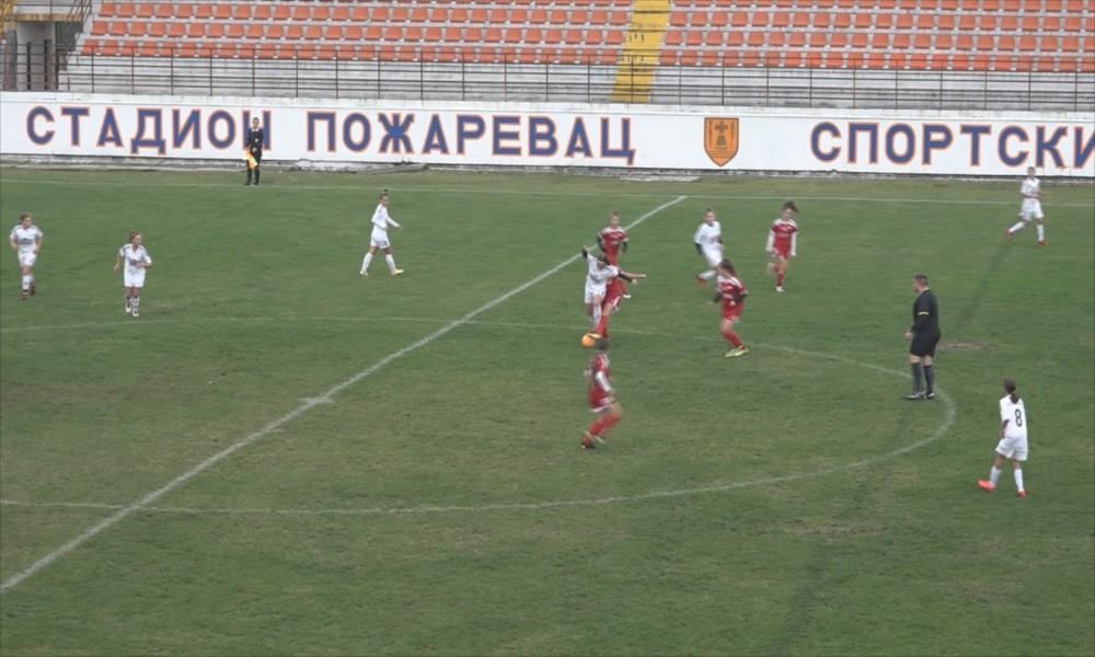 Ženski fudbalski savez Srbije u Požarevcu - selekcija